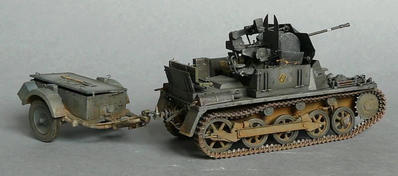 German Sd. Kfz. 101 Flakpanzer I A w/. Ammo Trailer - Страница 3 P1070934