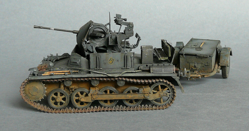 German Sd. Kfz. 101 Flakpanzer I A w/. Ammo Trailer - Страница 3 P1070935