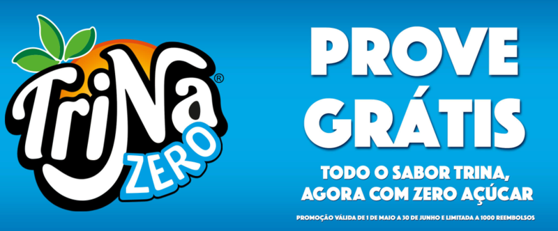 Amostras Trina Zero - Prove Grátis 0010