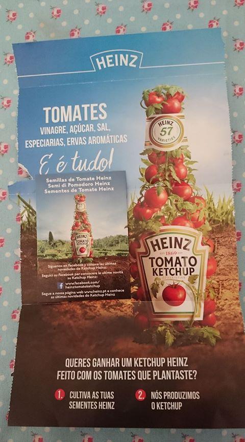 Amostra Heinz -Sementes de Tomate  17880410