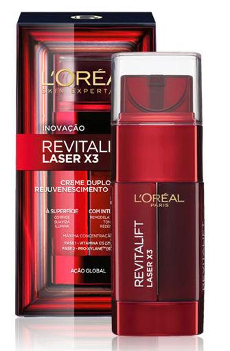 Amostra L'Oréal - Creme de Rosto Duplo Revitalift Laser X3 Captur10