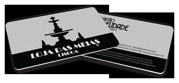 Amostras Lojas das Meias - Cartões de fidelidade Portfo10