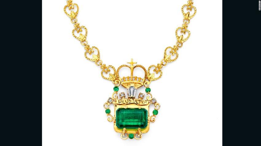 Esmeraldas del naufragio más caro de la historia, en venta 7510