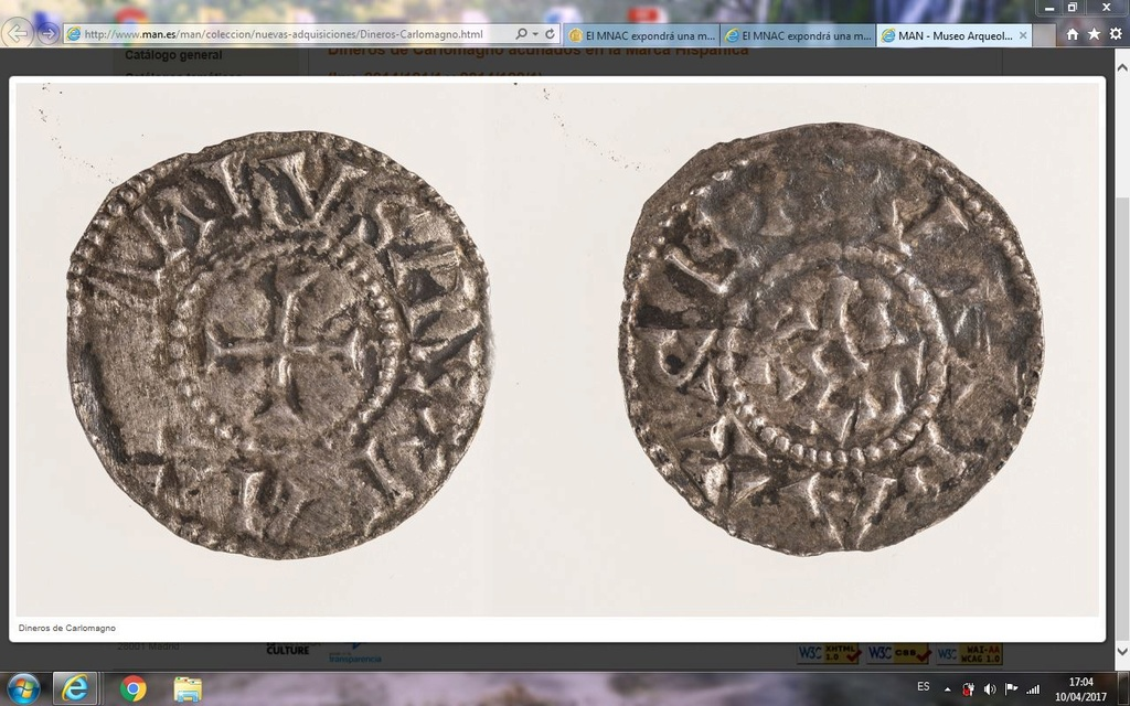 El MNAC expondrá una moneda de Carlomagno Captur11