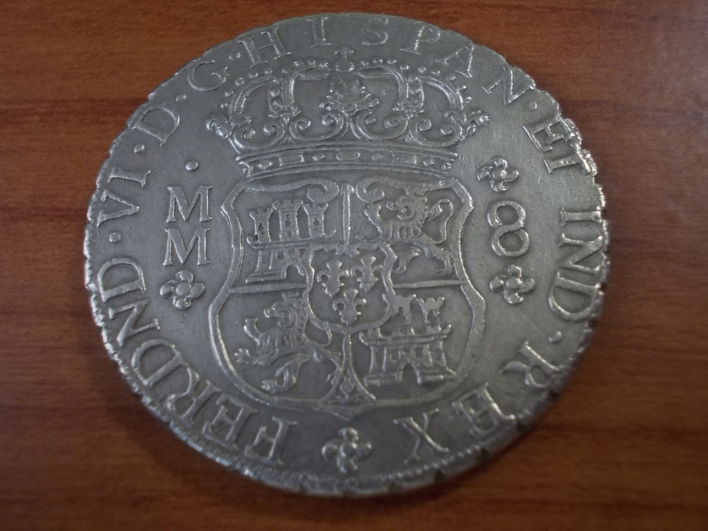 8 Reales  Fernando VI ceca de Méjico , 1.759 Dscn0813