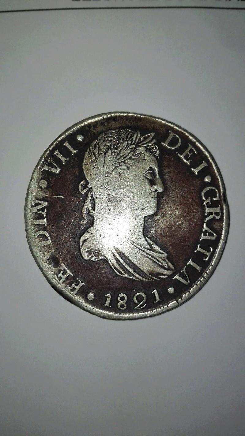 8 Reales 1821. Fernando VII. Durango Img_2014