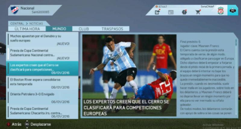 Imágenes de prensa/noticias (Campeonato Uruguayo) Cerro210
