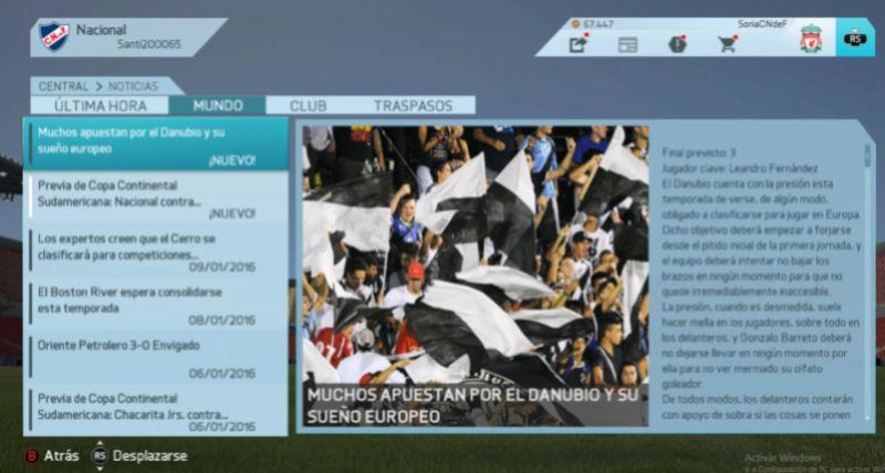 Imágenes de prensa/noticias (Campeonato Uruguayo) Danubi10