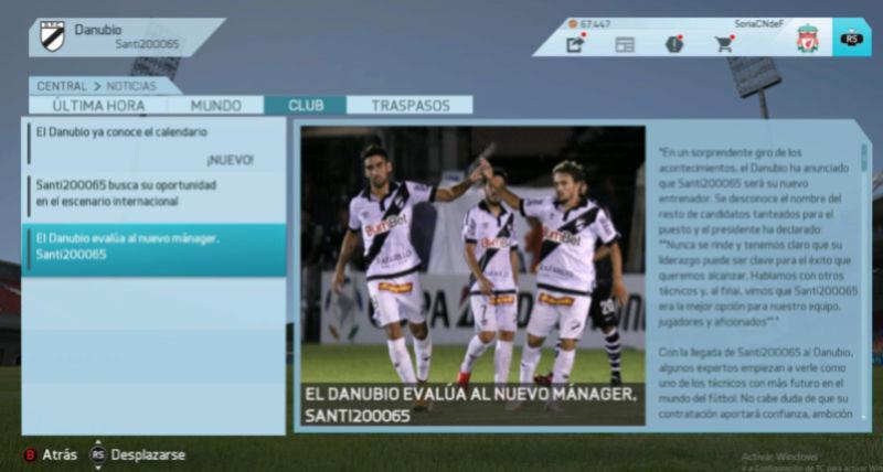 Imágenes de prensa/noticias (Campeonato Uruguayo) Danubi11