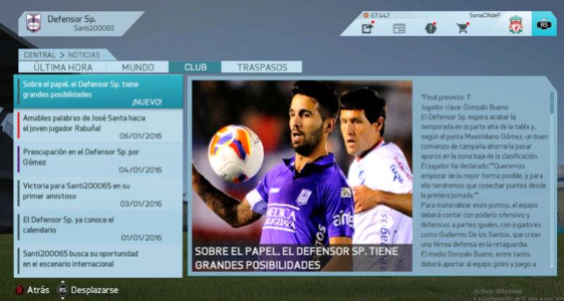 Imágenes de prensa/noticias (Campeonato Uruguayo) Defens11