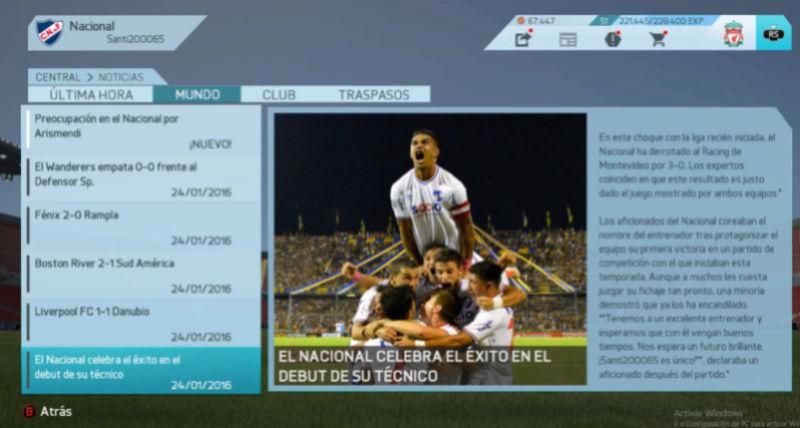 Imágenes de prensa/noticias (Campeonato Uruguayo) Nacion10