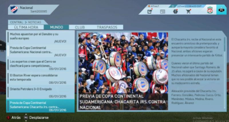 Imágenes de prensa/noticias (Campeonato Uruguayo) Nacion11