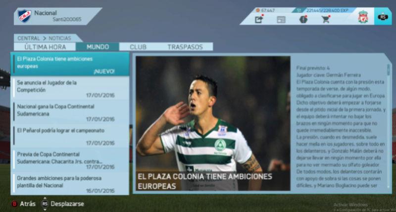 Imágenes de prensa/noticias (Campeonato Uruguayo) Pla110