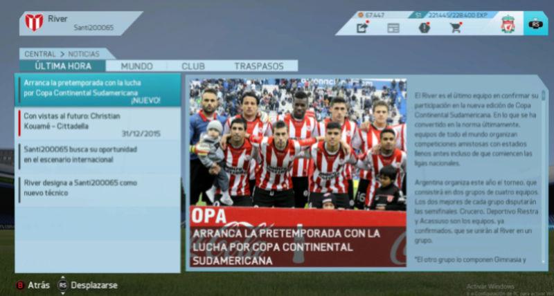 Imágenes de prensa/noticias (Campeonato Uruguayo) River110
