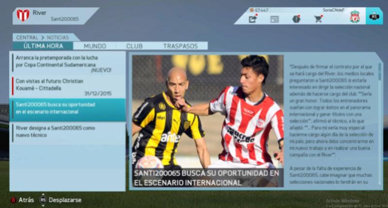 Imágenes de prensa/noticias (Campeonato Uruguayo) River210