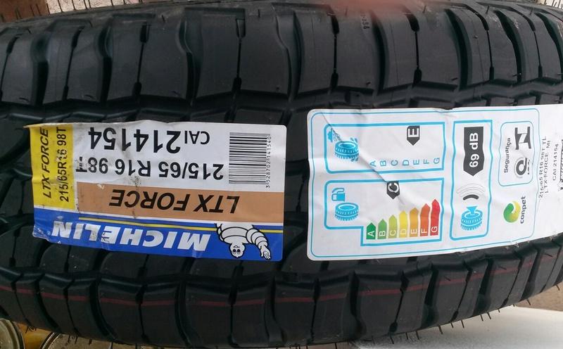 Michelin LTX Force no Renegade 20170310