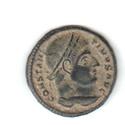AE3 de Constantino I (el Grande)  PROVIDENTIAE AVGG.  Siscia Consta10