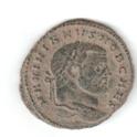 Nummus de Galerio. SALVIS AVGG ET CAESS FEL KART.  Cartago Maxanv10