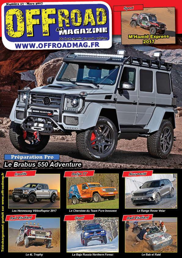 Le numéro 17 d' Offroad 4x4 Magazine est en ligne !  Couver10