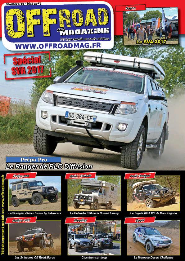 Le numéro 19 d'Offroad 4x4 Magazine est en ligne ! Couver12