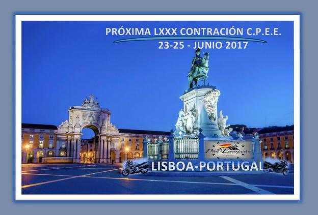 LXXX Salida C.P.E.E. Lisboa (Portugal) Portad12