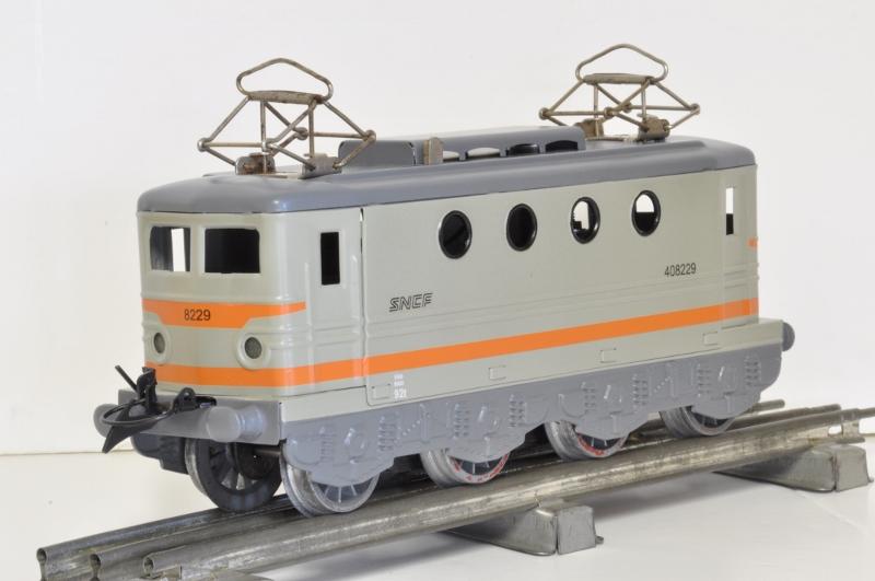Transformation de la Hornby BB 8051 en version SNCF nouille gris béton 20170312