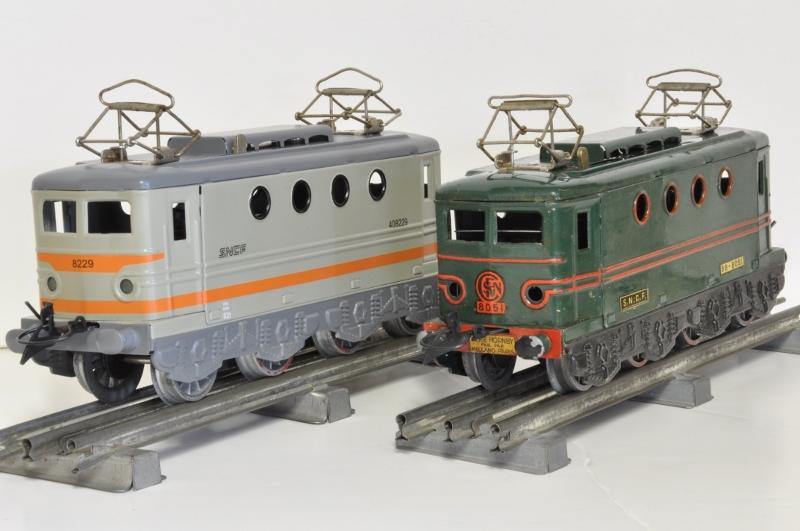 Transformation de la Hornby BB 8051 en version SNCF nouille gris béton 20170313