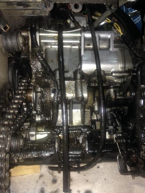 Transformation Super Ténéré 94 en Réplica SONAUTO Moteur12