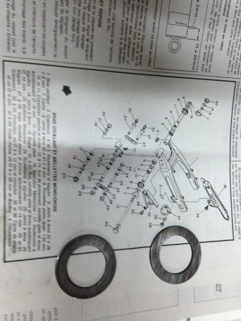 Remontage Bras Oscillant En galere Help Rondel12