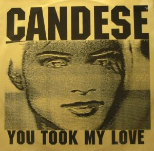 candese (aka future sound of london) - you took my love Front11