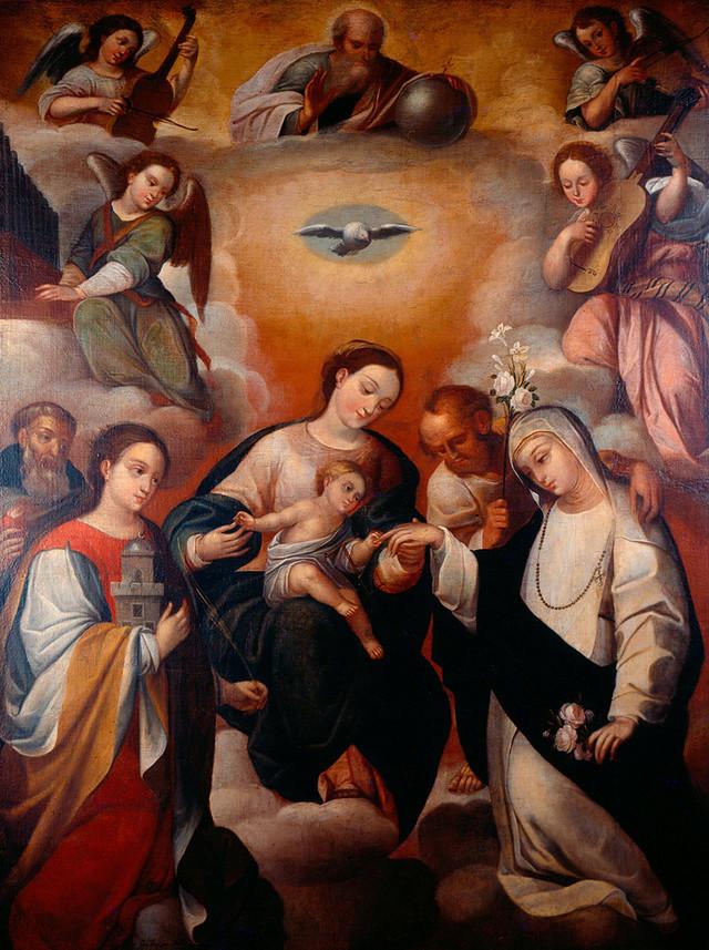 San Jacinto de Cracovia- San José y Santa Catalina, (R.M. SXVII-O437) Ap212911
