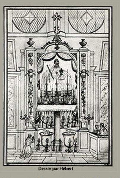 Virgen a identificar / Crucifixión  (R.M. SXVII-O428) Chartr10