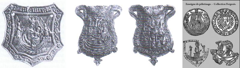 Virgen a identificar / Crucifixión  (R.M. SXVII-O428) Insign10