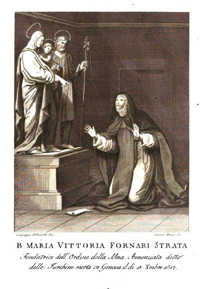 Beata Maria Victoria de Fornari / S. Mateo Apóstol. S. XVIII Vita10
