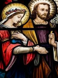 Le mariage unité sponsale: suivre la voie de l'unité ouverte par JPII  Sainte10