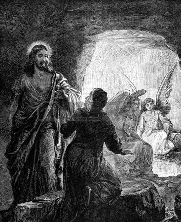 """Pâques - """"La Résurrection du Seigneur"""" -  Tombea12"""