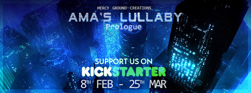 Ama's Lullaby - A cyberpunk adventure game Suppor10