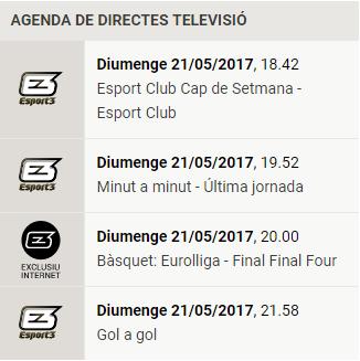 Qué bonita es la Euroliga (basket) Esport10