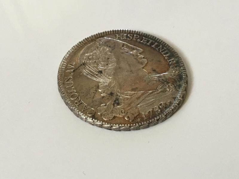 1789 Carlos IV. Medalla de proclamación en Potosí. Img_0211