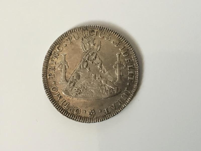 1789 Carlos IV. Medalla de proclamación en Potosí. Img_0212
