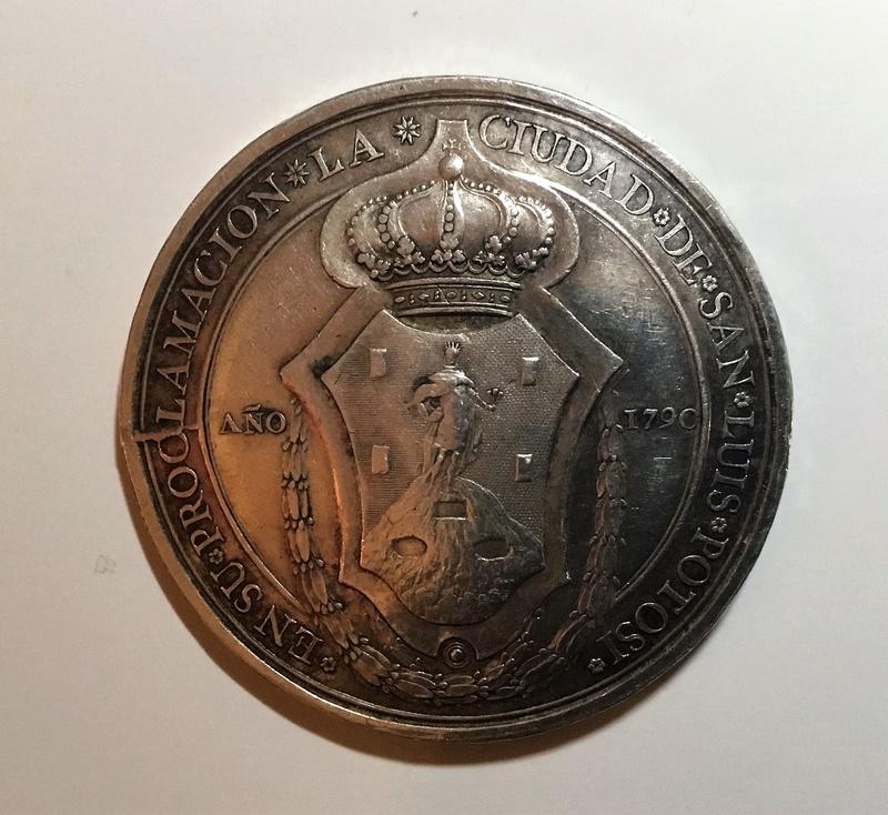 1790 Proclamación de Carlos IV en San Luis de Potosi Img_0326