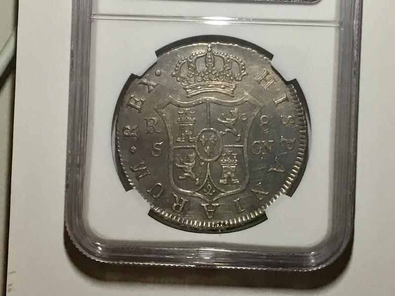 1803 Sevilla, 8 reales Carlos IV Img_0412