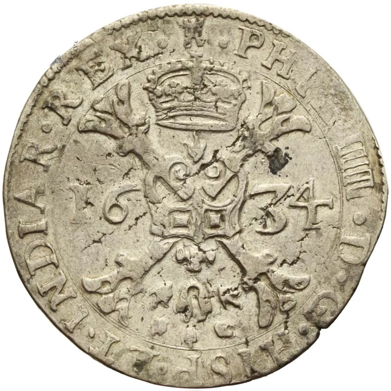 1634 patagón de tournai, felipeIIII Img_0610