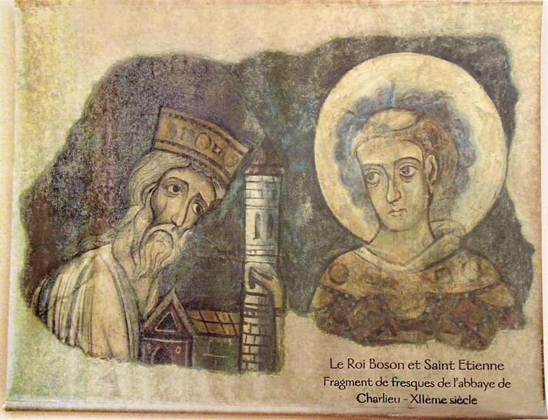 Quand Vienne couronnait Boson, roi de Provence King_b10