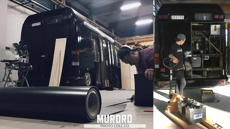 CDLC.CONVOY: MURDRD Mobile Shop & CDLC.CO RCKS Debot Scooter Chapte24