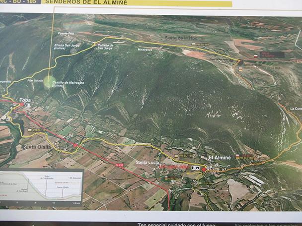 Ruta Toba de Valdivieso- El Almiñé 1510