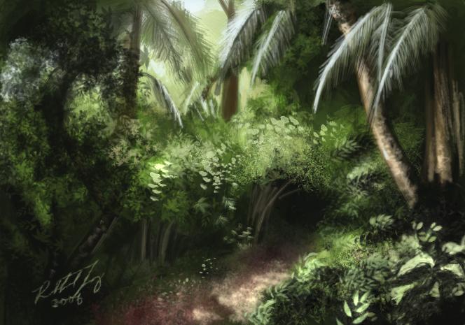 Objevitelská liga - Honba za zlatou opicí Jungle10