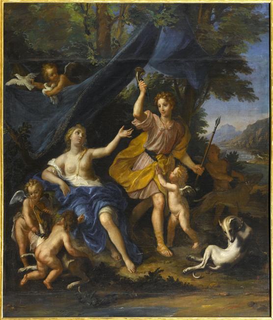 Adonis, heros antique à Versailles 10-51710