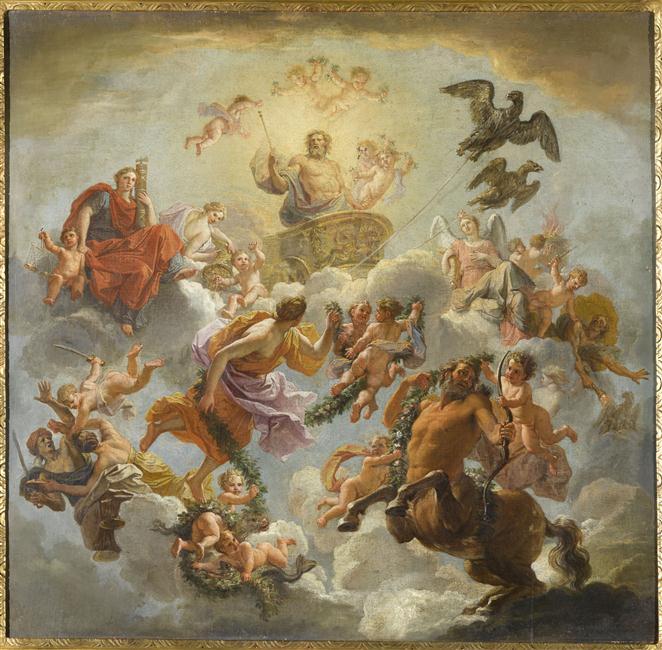 Le centaure, une créature fabuleuse à Versailles  12-53010