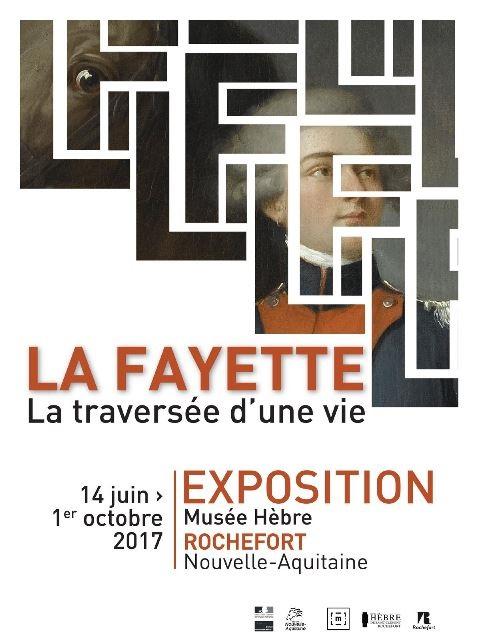 Expo. à Rochefort : La Fayette, la traversée d'une vie  Affich12